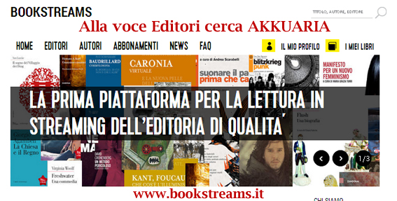 Leggere in streaming, arriva Bookstreams