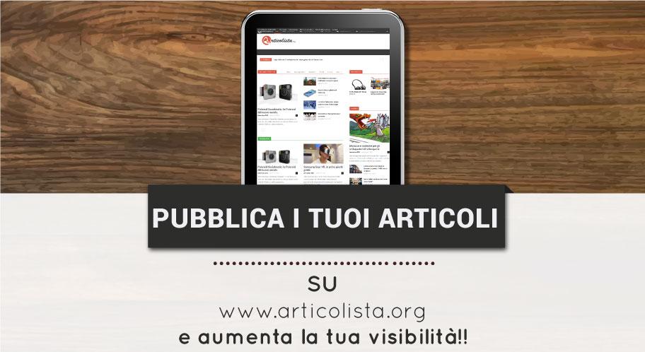 Pubblicare articoli online