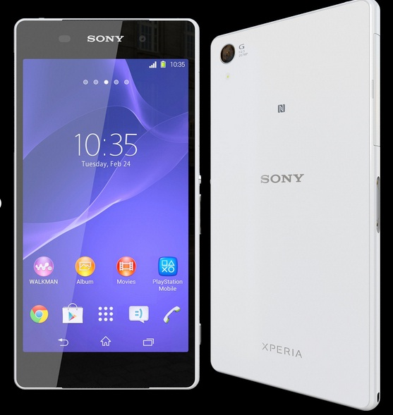 Sony, in arrivo Xperia Z3, nuovo smartphone top di gamma