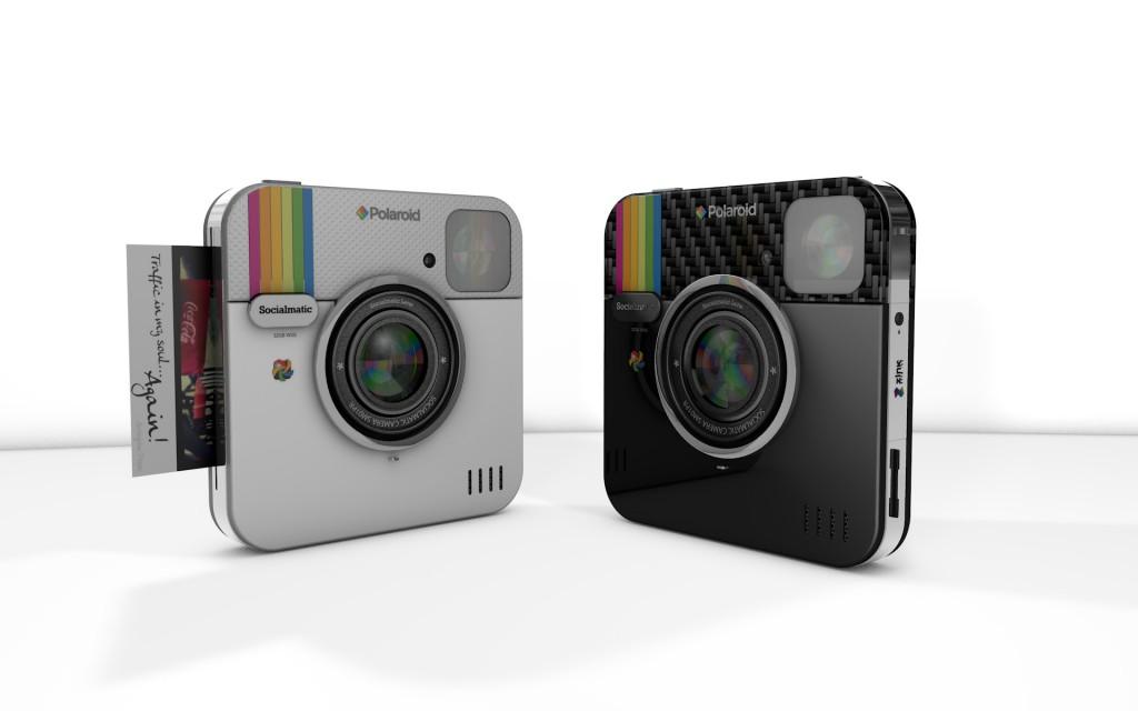 Polaroid Socialmatic: la Polaroid del nuovo secolo.